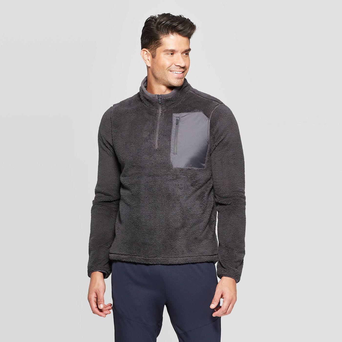 C9 Champion Men's Fleece 1/4 Zip Shell Jacket