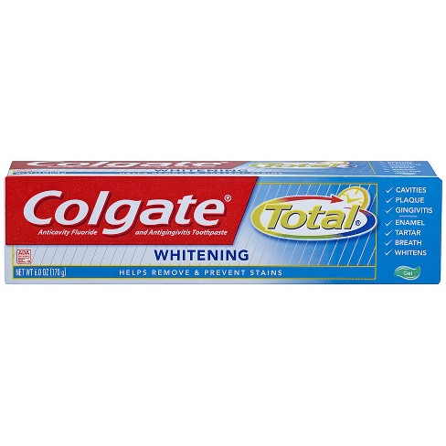 Colgate Total Whitening Gel Toothpaste - 6oz - image 1 of 3