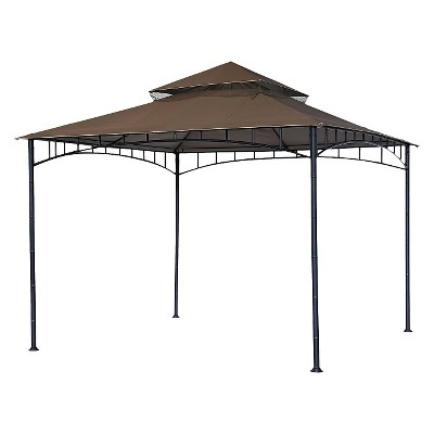 purchase cheap 54446 a7984 10' X 10' Replacement Gazebo Canopy : Target