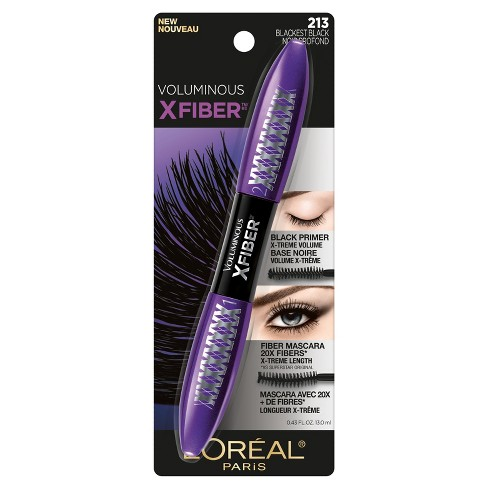 l'oreal superstar x-fiber extreme black mascara