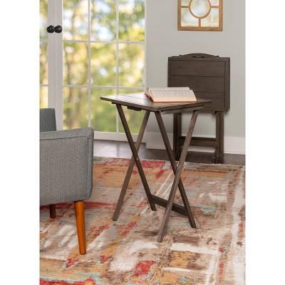 Graham Tray Table Gray - Powell Company