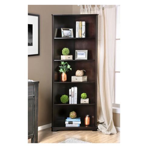 78 Iohomes Mcafee Contemporary 5 Tier Corner Bookshelf Target