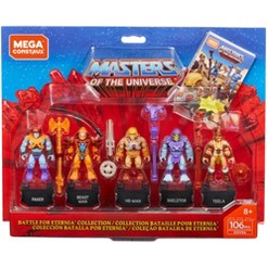 Mega Construx Masters of the Universe Heroes Battle of Eternia Collection