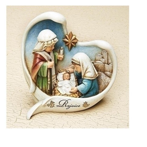 Roman 5 5 Children S Nativity Scene With Angel Wings Christmas