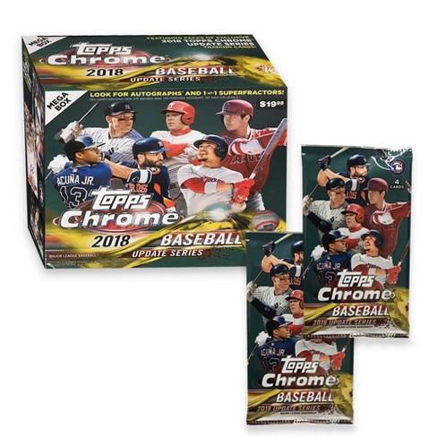 Topps Mlb Chrome Update Baseball Trading Card Mega Box