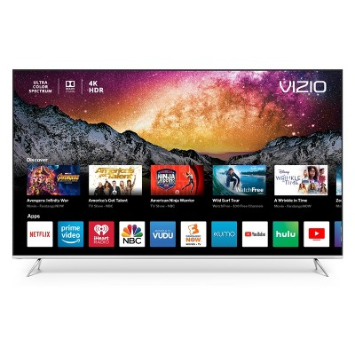 "VIZIO P-Series™ 65"" Class (64.5"" Diag.) 4K HDR Smart TV - Black (P65-F1)"