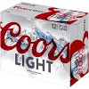 Coors Light Beer - 12pk/12 fl oz Cans - image 4 of 4