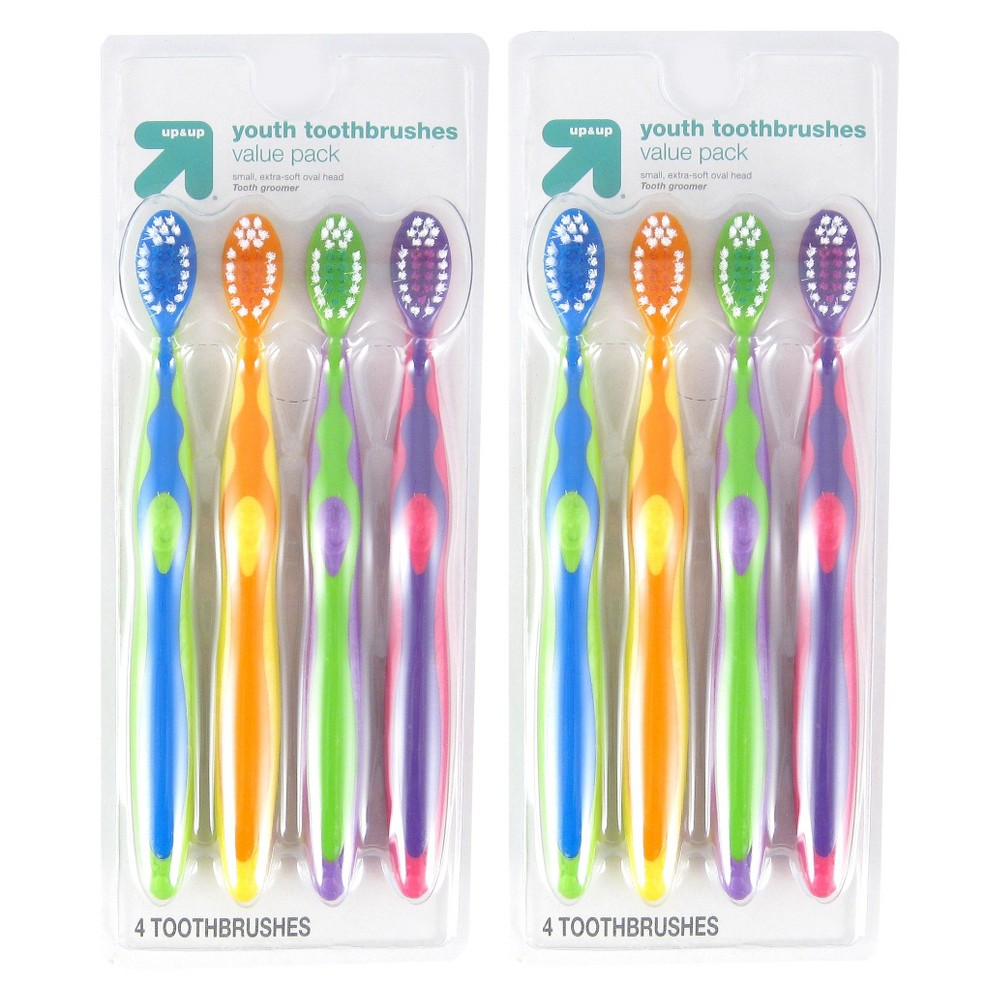 Youth Soft Toothbrushes Set 2pk - Up&Up