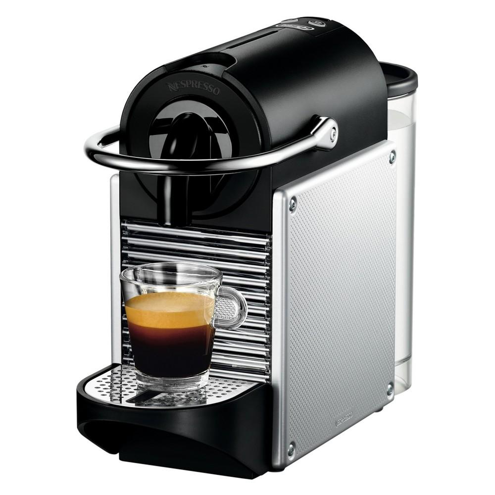 Nespresso Pixie Espresso Machine by De'Longhi – Aluminum, Light Silver 52634447