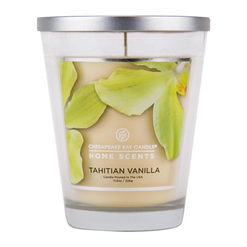 Jar Candle Tahitian Vanilla Home Scents by Chesapeake Bay Candles - image 1 of 1