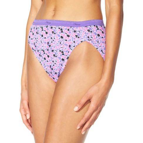77aba0cd90e Hanes 10pk Women's Cotton Hi-Cut Panties - Colors May Vary 6 : Target