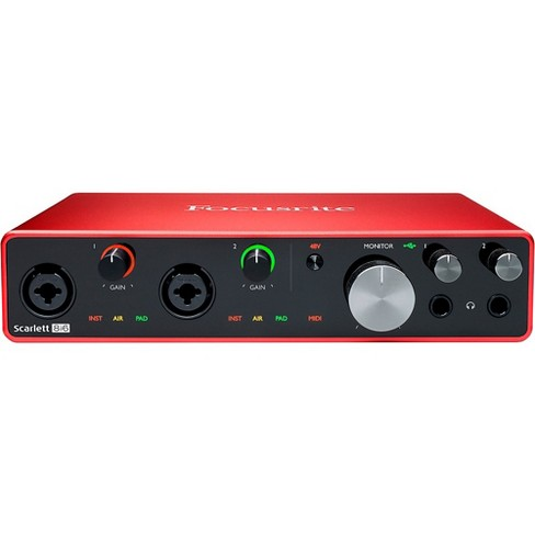 Focusrite Scarlett 8i6 USB Audio Interface (Gen 3) - image 1 of 4