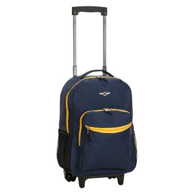 "Rockland 17"" Roadster Rolling Backpack"