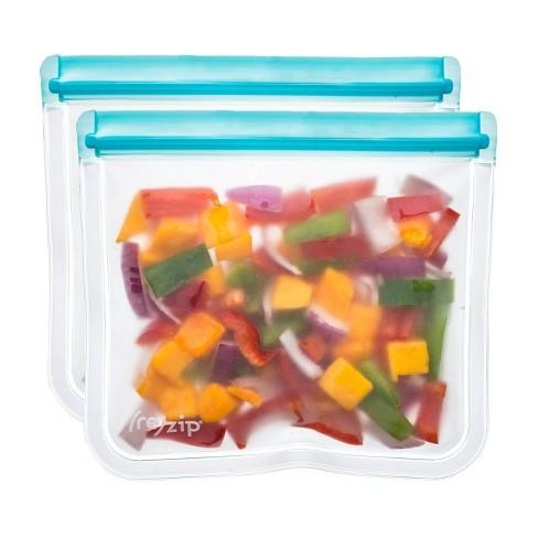 (re)zip Leak-Proof Lay Flat Aqua Lunch Bag - 2pk - image 1 of 4