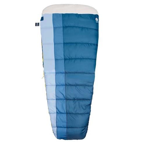 Sierra Designs Coal Creek 40 Degree Fahrenheit Mummy Sleeping Bag - Blue - image 1 of 4