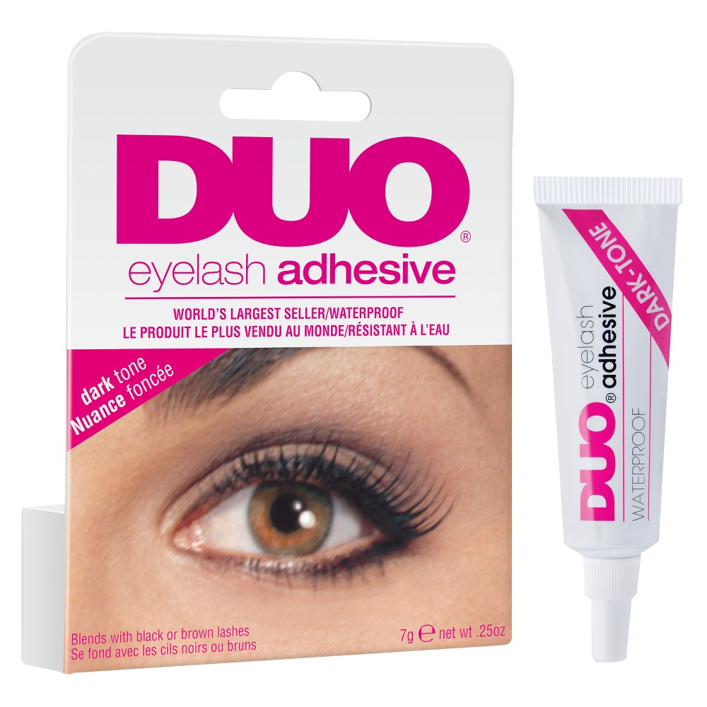 Duo Adhesive Lash Adhesive Dark - 0.25oz, Brown/Black