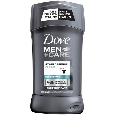 Dove Mencare Stain Defense Antiperspirant Deodorant Stick Clean