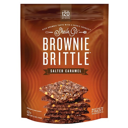 brownie brittle salted caramel 5oz target