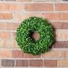 """10"""" Artificial Mini Button Leaf Wreath - Vickerman - image 2 of 2"""