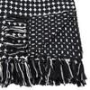 Cross Thread Throw Blanket Black - Saro Lifestyle - image 2 of 3