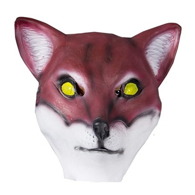 HMS Red Fox Animal Full Face Adult Costume Mask