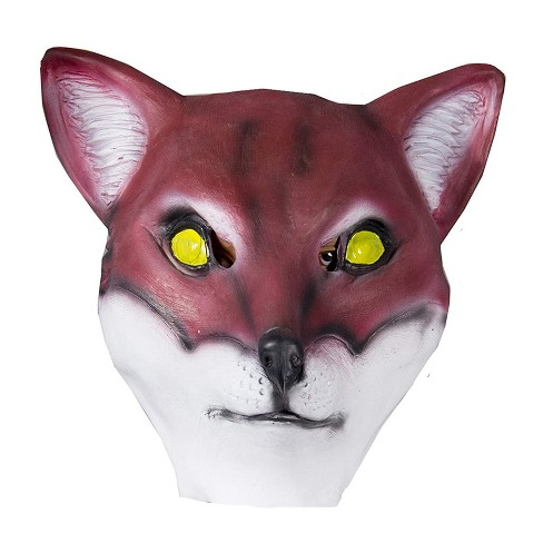 HMS Red Fox Animal Full Face Adult Costume Mask - image 1 of 1