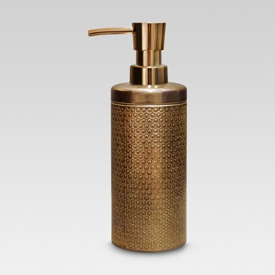 Bubble Textured Soap Pump Brown - Threshold™