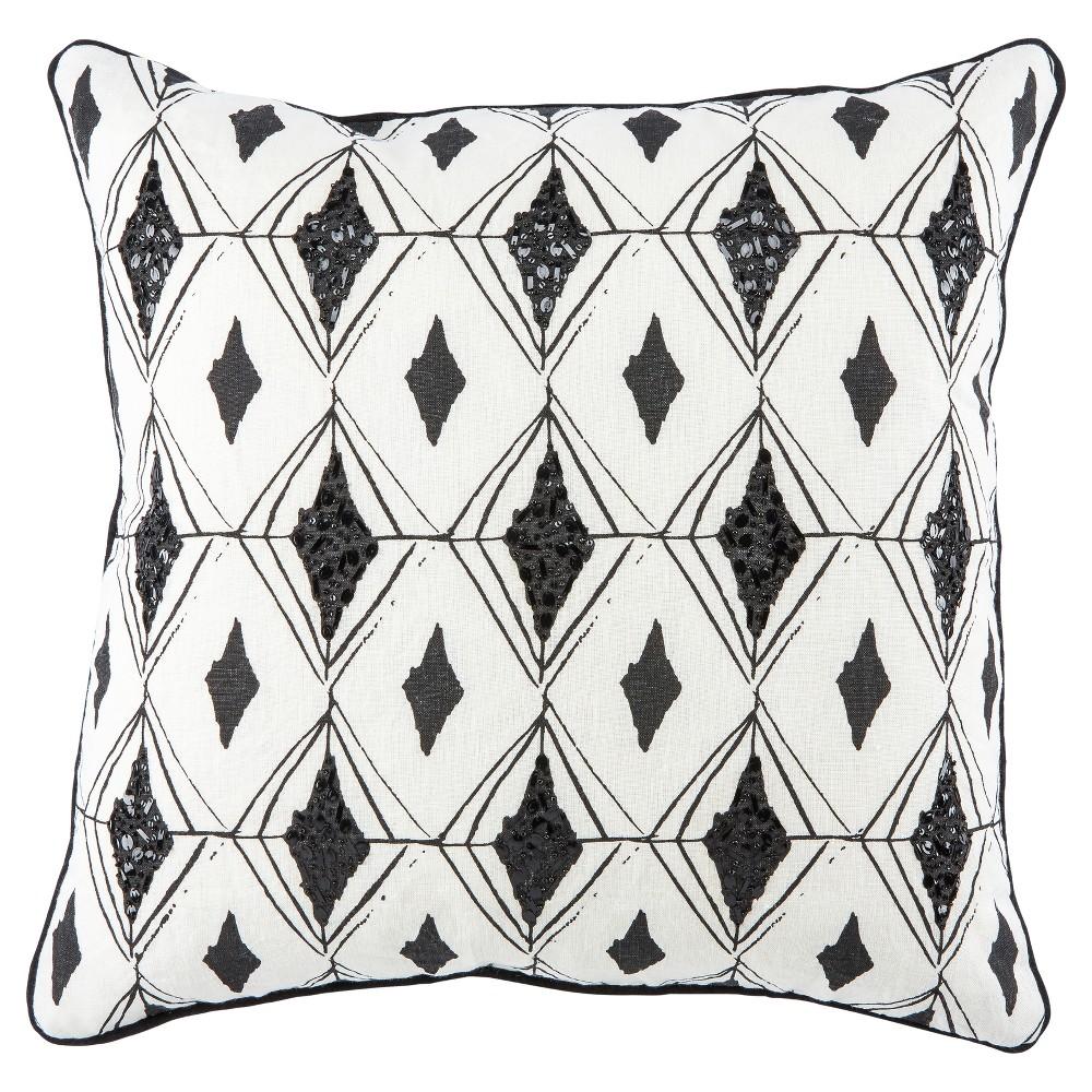 Off-White (Beige) Throw Pillow (22