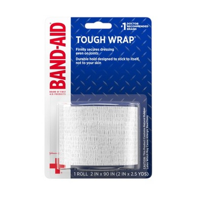 Band-Aid Brand Secure-Flex Self-Adherent Wound Wrap - 2 In by 2.5 yd