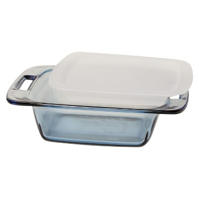 Pyrex 8  Square Glass Lidded Bakeware