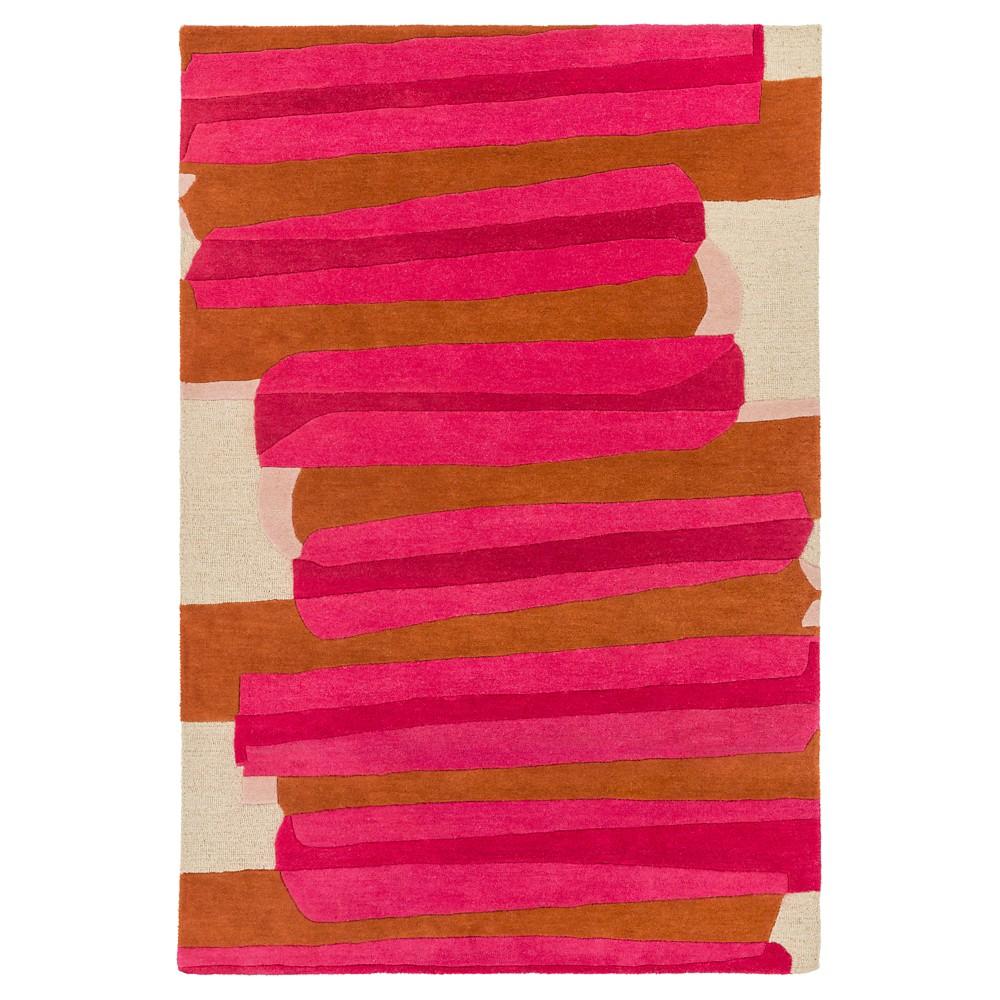 Priscila Kid's Rug 9'x13' Bright Pink - Surya