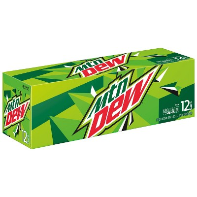Mountain Dew Citrus Soda - 12pk/12 fl oz Cans