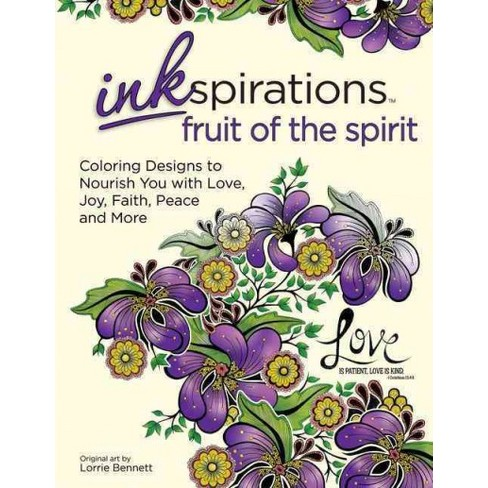Inkspirations Fruit of the Spirit Adult Coloring Book : Coloring ...