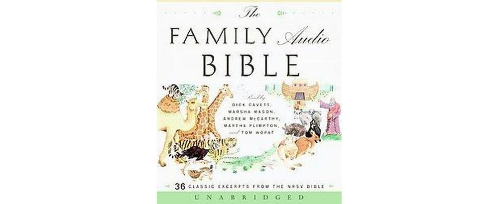 Family Audio Bible : 36 Classic Excerpts from the Nrsv Bi...