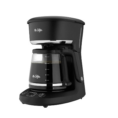 Mr. Coffee Programmable 12-Cup Coffee Maker - Black
