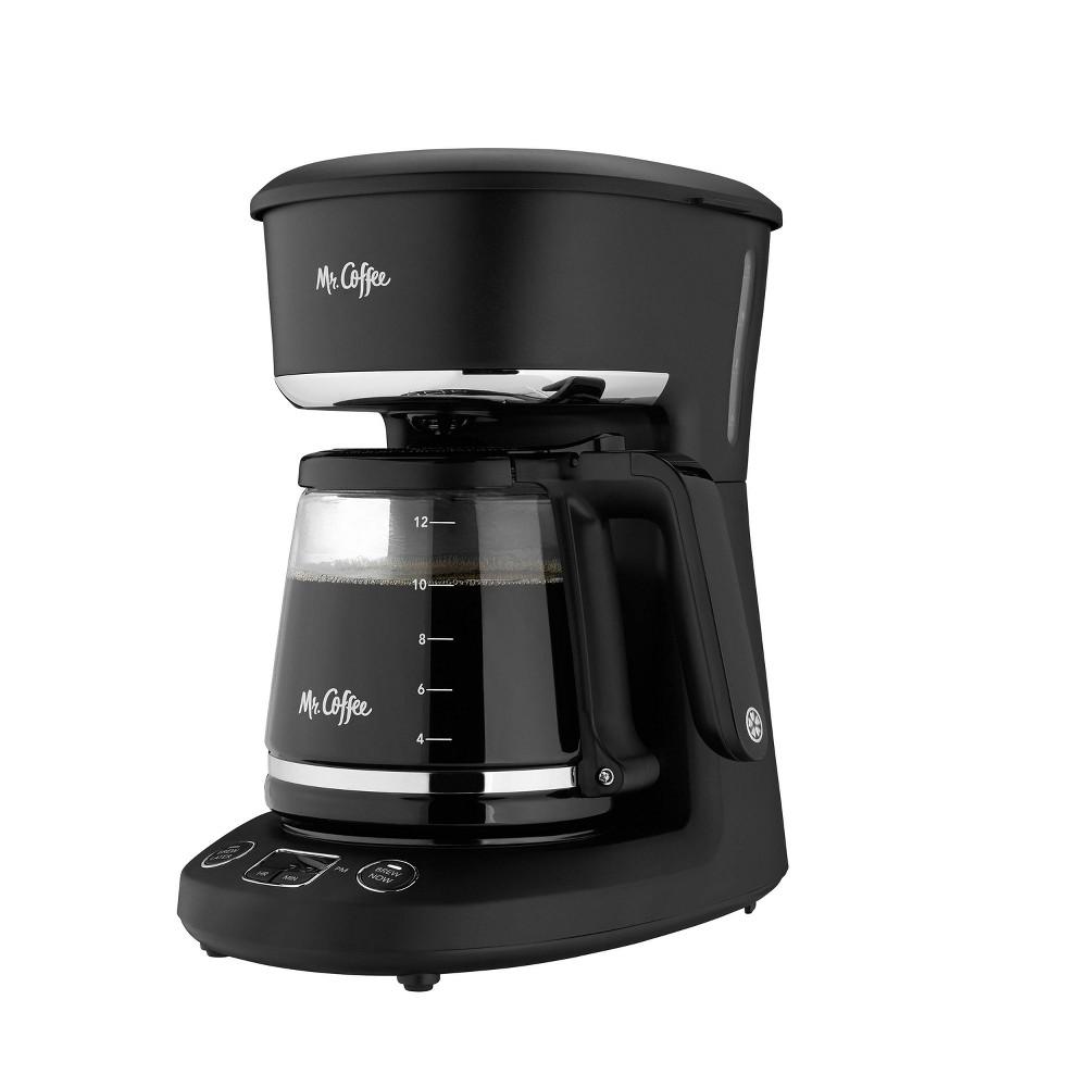 Mr Coffee Programmable 12 Cup Coffee Maker Black