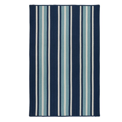 Cali Stripe Braided Area Rug - Colonial Mills