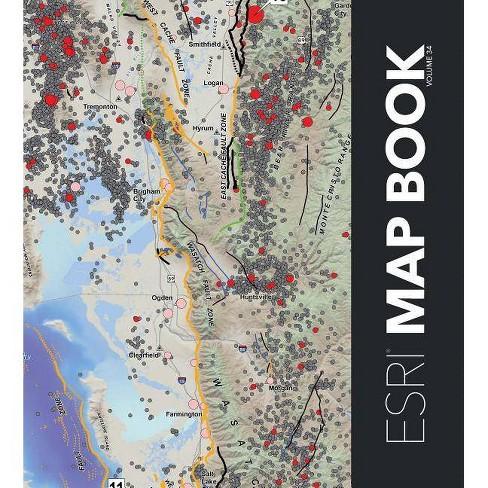 ESRI Map Book, Volume 34 - (Paperback) - image 1 of 1