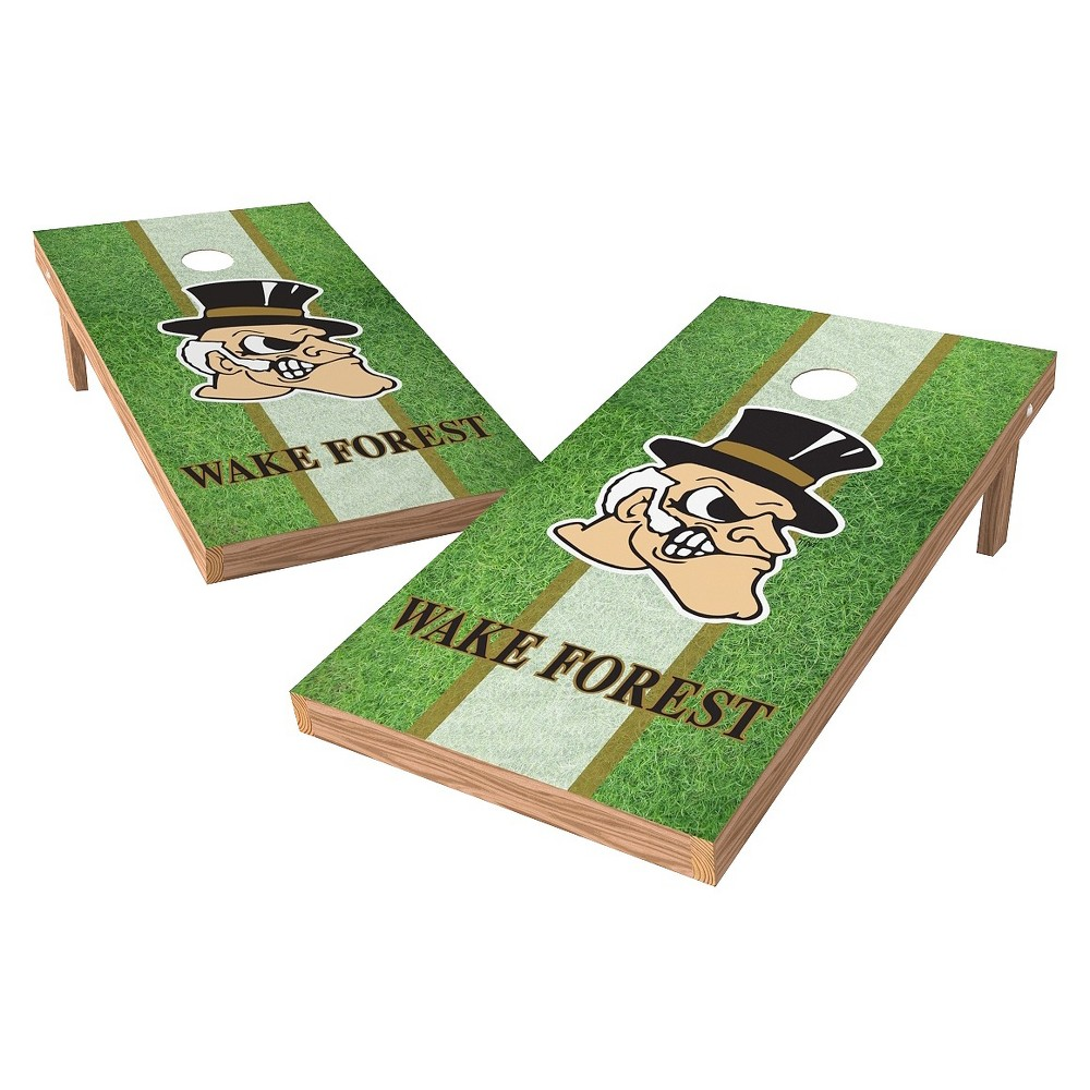 Wake Forest Demon Deacons Wild Sports 2' x 4' Field Design Authentic Cornhole Set