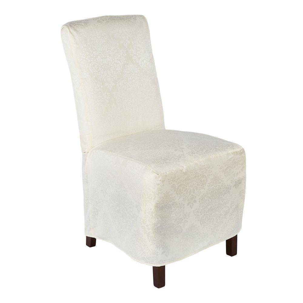 "Image of ""18""""X24"""" Lexington Chaircover Cream - Town & Country Living, Ivory"""