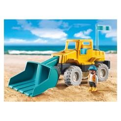 Playmobil Excavator, mini figures