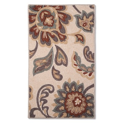 Maples Rugs Paisley Floral Accent Rug