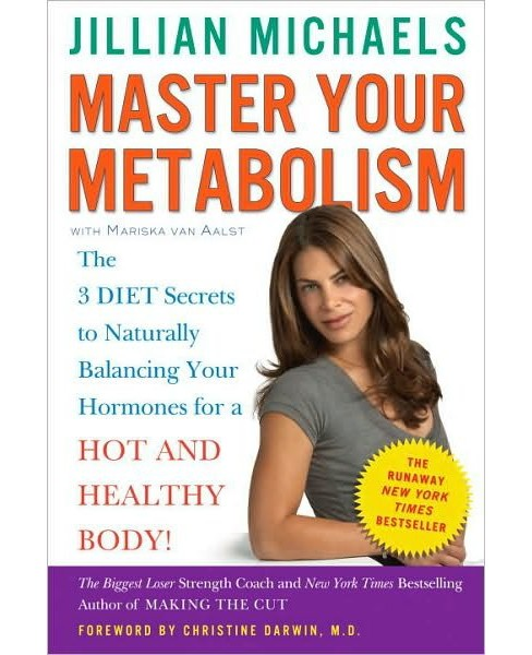 Master Your Metabolism (Paperback) by Jillian Michaels - image 1 of 1