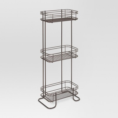 3 Tier Bathroom Storage Shelves Bronze - Threshold™