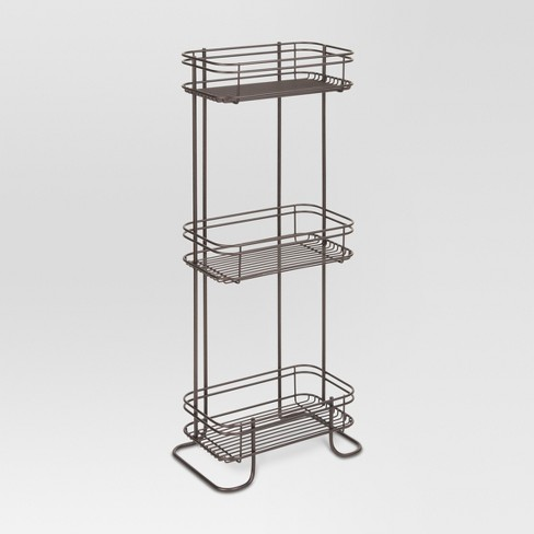 "3-Shelf Bath Tower 25""x6"" - Threshold™ - image 1 of 3"