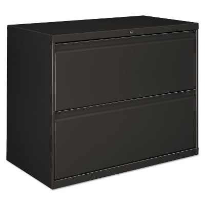 Alera Lateral File 2 Drawer 36w x 19.25d x 28.38h Charcoal LF3629CC