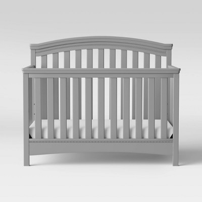 Delta Children Emerson 4-in-1 Convertible Crib -Gray