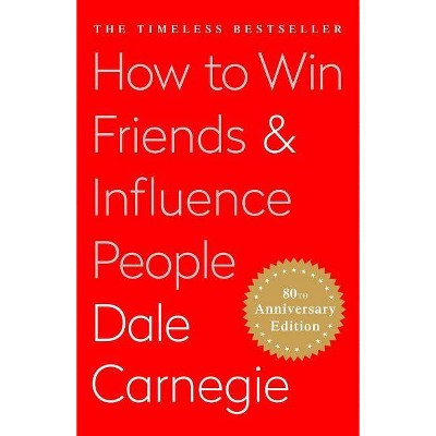 How to Win Friends and Influence People - by Dale Carnegie (Hardcover)