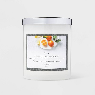 11oz Jar Tangerine Ginger Candle - Threshold™