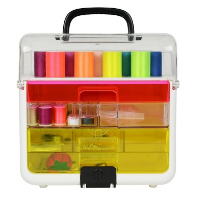 Singer Sew It-Goes-Craft Storage and Sewing Kit Neon 255 pc